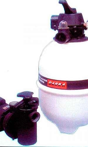 Bomba de piscina com filtro