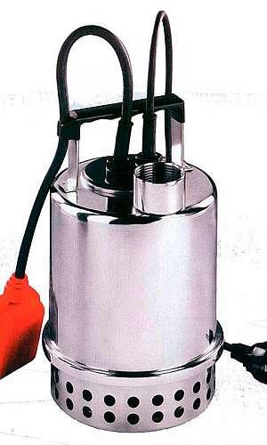 Bomba submersível para água suja