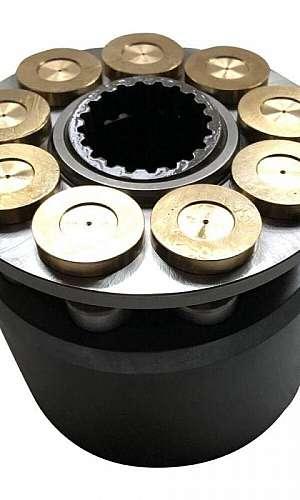Conserto de bomba de pistão