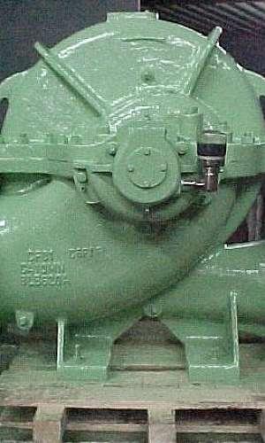 Manutenção de bomba saneamento