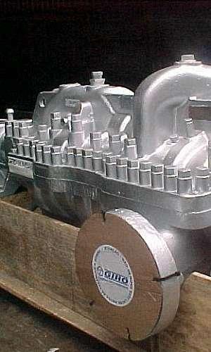 Manutenção de bombas de alta pressão