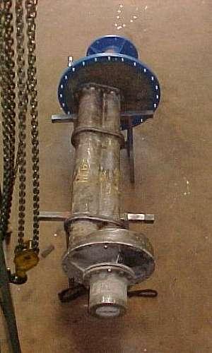 Manutenção de bombas industriais de ácidos