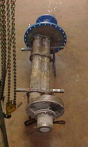 Reparo de bombas industriais de ácidos