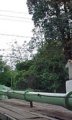 Serviço de manutenção de bombas verticais