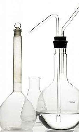 Vidros para laboratório de química
